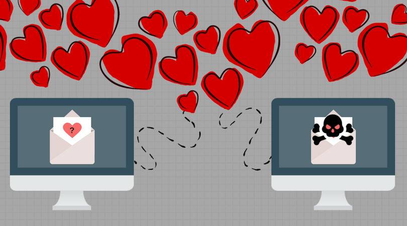 online dating can result in cyber crime or scams especially on valentine's day